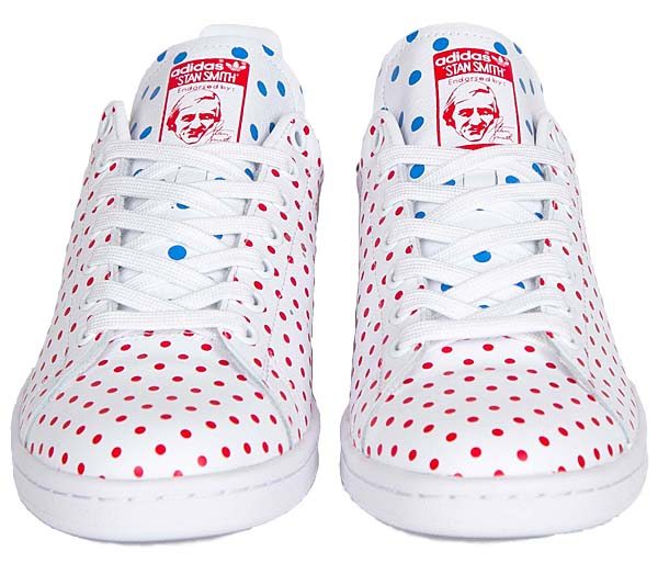 adidas Originals = PHARRELL WILLIAMS PW STAN SMITH SPD [FTW WHITE / RED / BLUEBIRD] B25401