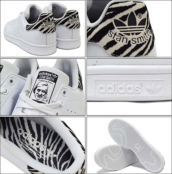 adidas Originals STAN SMITH [WHITE / CORE BLACK] B26590