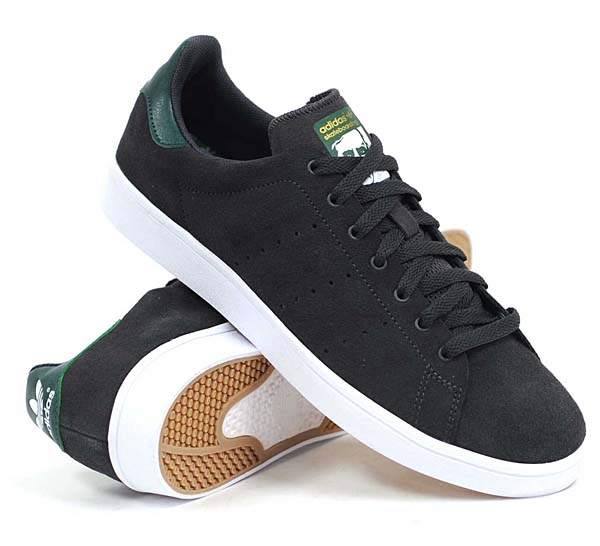 adidas SKATEBORDING STAN SMITH VULC [SOLID GREY / FOREST NIGHT / RUNNING WHITE] C75191