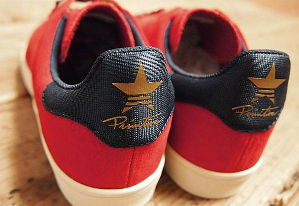 adidas skateboarding STAN SMITH VULC PRIMITIVE [POWER RED/COLLEGIATE NAVY/METALLIC GOLD] C75858