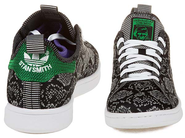 adidas x Concepts STAN SMITH [BLACK/WHITE-PURPLE] C77415