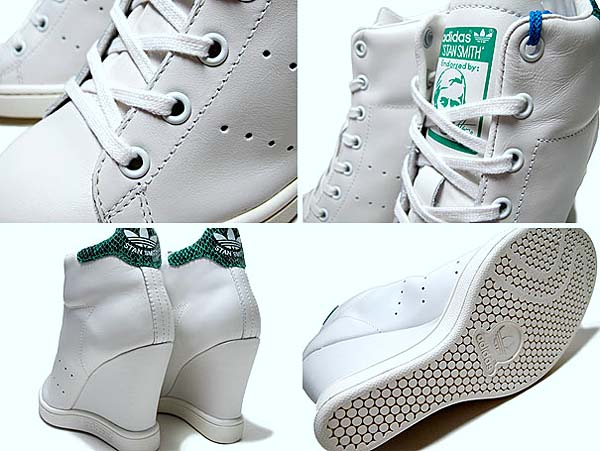 adidas STAN SMITH UP EF [WHITE/GREEN] D65175