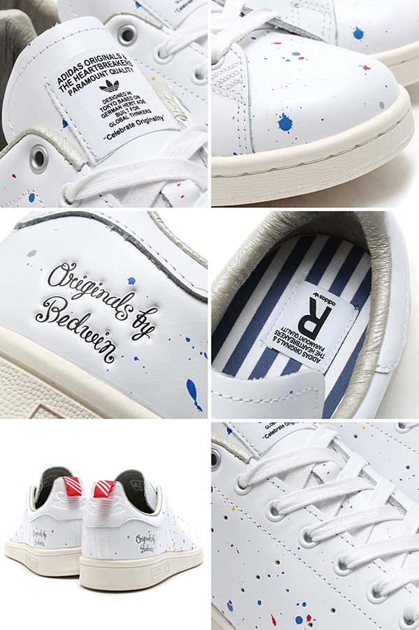 adidas Originals x BEDWIN & THE HEARTBREAKERS STAN SMITH [RUNNING WHITE/RUNNING WHITE/CHALK 2] D65674