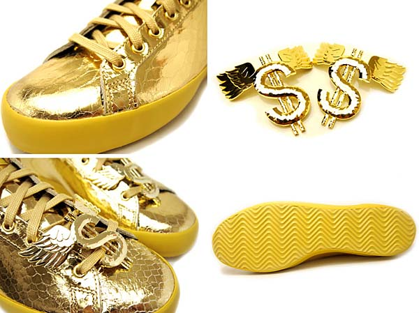 adidas Originals JS GOLD ROD LAVER [METAL GOLD] D65861 写真3