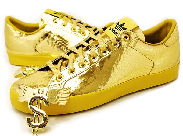 adidas Originals JS GOLD ROD LAVER [METAL GOLD] D65861