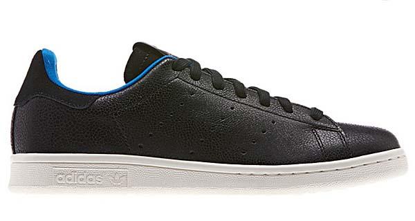 adidas Originals STAN SMITH SHARK [BLACK/BLACK] D65899 写真1