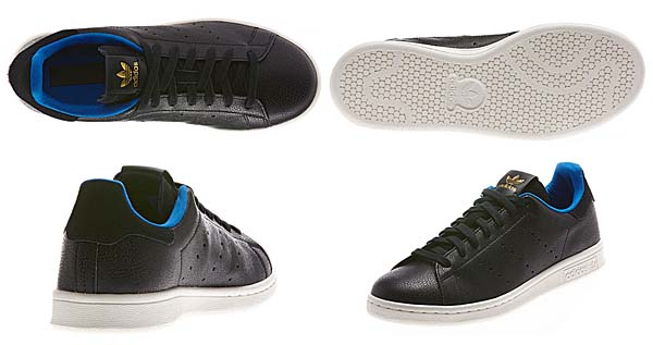 adidas Originals STAN SMITH SHARK [BLACK/BLACK] D65899 写真2