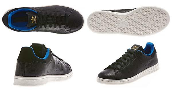 adidas Originals STAN SMITH SHARK [BLACK/BLACK] D65899 写真2