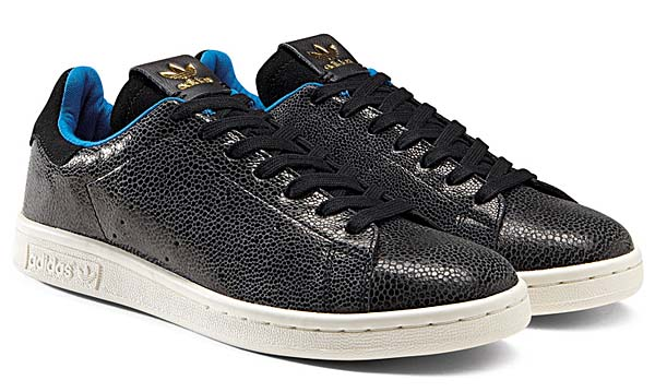 adidas Originals STAN SMITH SHARK [BLACK/BLACK] D65899