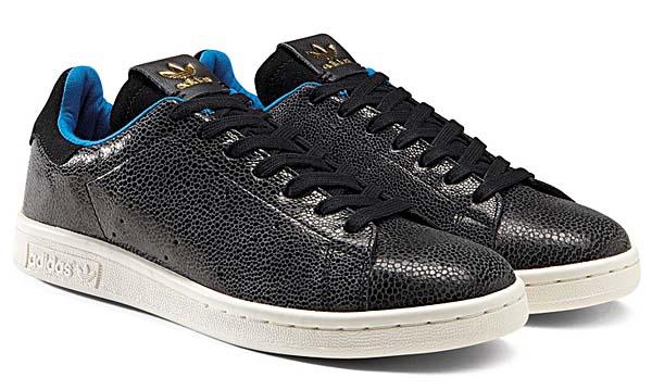 adidas Originals STAN SMITH SHARK [BLACK/BLACK] D65899
