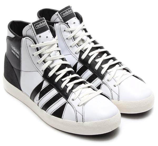 adidas Originals BASKET PROFI OG [BLACK/RUNNING WHITE/WHITE VAPOR] D65932 写真1