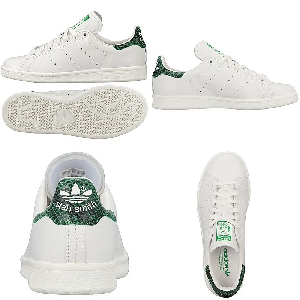 adidas Originals STAN SMITH EF W [WHITE/WHITE/FAIRWAY] D67850