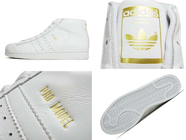 adidas PRO MODEL [RUNWHT / RUNWHT / METGOL] G49851