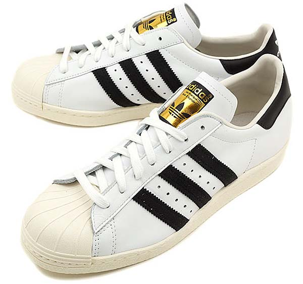 adidas SUPERSTAR 80s [WHITE/BLACK/CHALK2] G61070