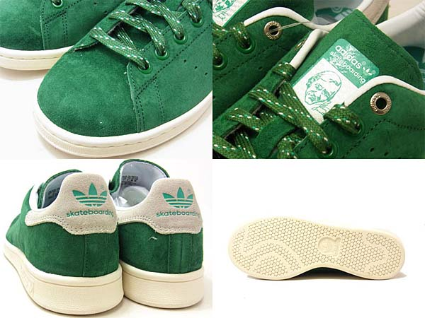 adidas Skatebording STAN SMITH [AMAZON GREEN/WHITE/FRESH GREEN] G98163 写真2