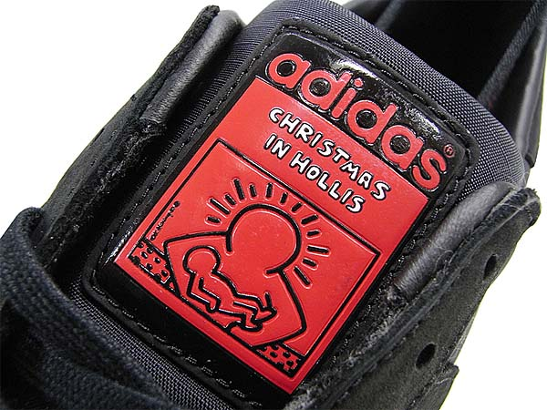 adidas SUPERSTAR 80s adidas x RUN DMC x KEITH HARING [BLACK1/COLRED/WHTVAP] G98610 写真1