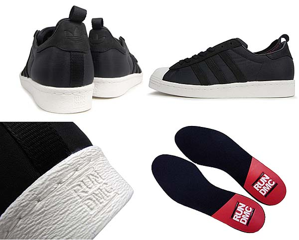 adidas SUPERSTAR 80s adidas x RUN DMC x KEITH HARING [BLACK1/COLRED/WHTVAP] G98610 写真3