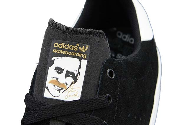 adidas Skateboarding STAN SMITH VULC [BLACK/RUNWHT/BLACK1] G99793 写真2
