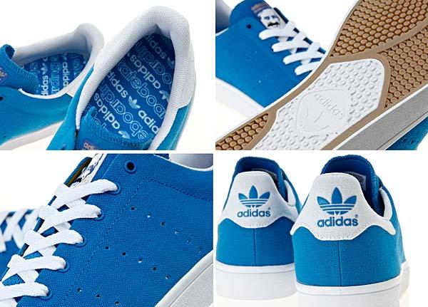 adidas skateboarding STAN SMITH SKATE [BLUEBIRD/WHITE/BLUEBIRD-CANVAS] G99795 写真2