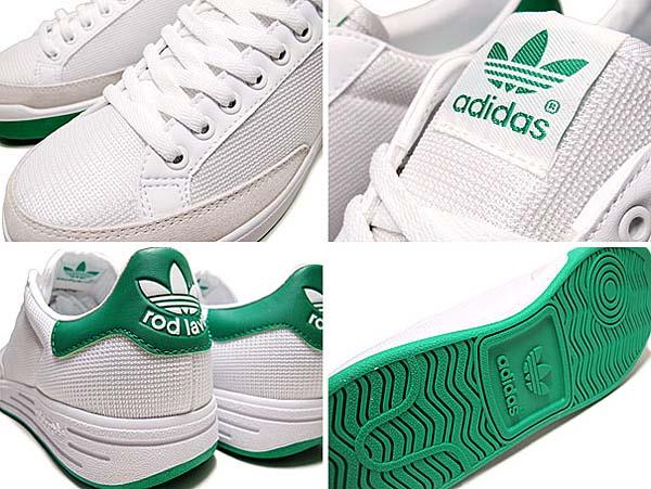 adidas ROD LAVER [WHITE/GREEN] G99863