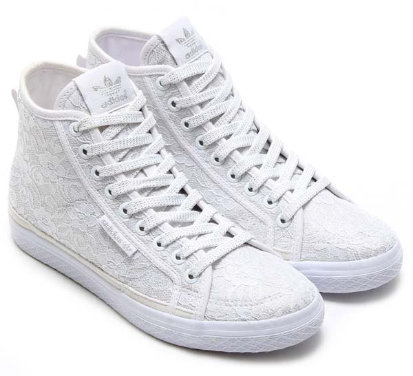 adidas Originals for atmos HONEY MID LACE W [RUNNING WHITE/RUNNING WHITE/RUNNING WHITE] M18710