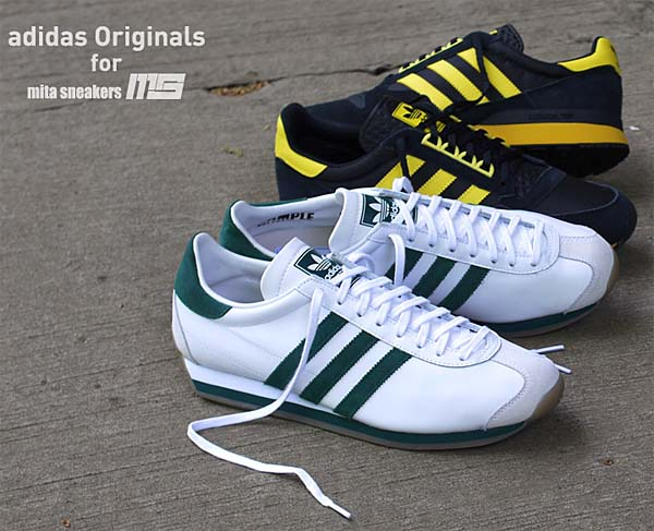 adidas Originals for mita sneakers CTRY OG MITA [WHITE/GREEN/GUM] M21876