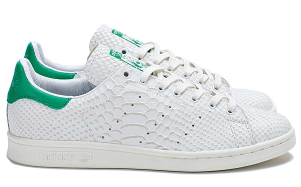 adidas Consortium STAN SMITH Reptile Leather[WHITE VAPOUR/LIGHT BONE/FAIRWAY] M22240 写真1