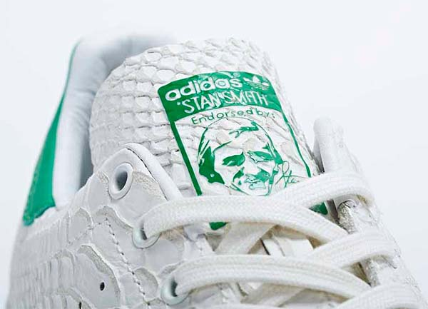 adidas Consortium STAN SMITH Reptile Leather[WHITE VAPOUR/LIGHT BONE/FAIRWAY] M22240 写真2