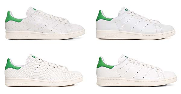 adidas Consortium STAN SMITH Reptile Leather[WHITE VAPOUR/LIGHT BONE/FAIRWAY] M22240 写真4