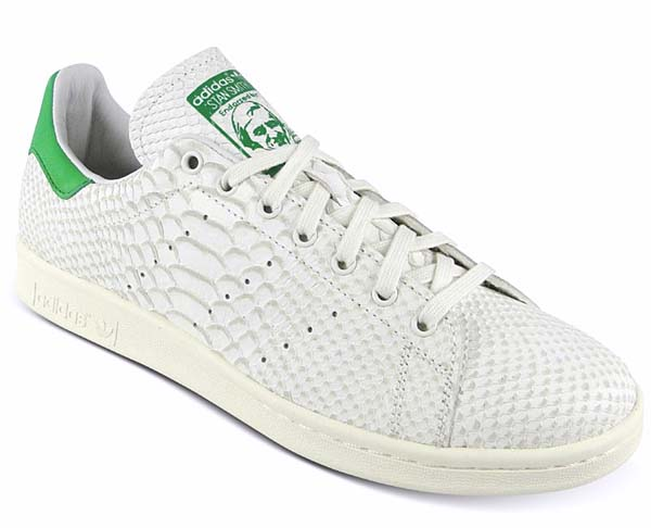 adidas Consortium STAN SMITH Reptile Leather[WHITE VAPOUR/LIGHT BONE/FAIRWAY] M22240