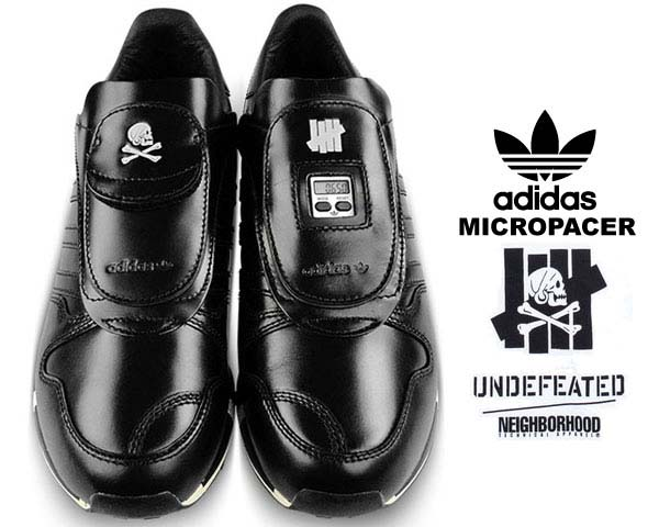 adidas CONSORTIUM x UNDEFEATED x NEIGHBORHOOD MICROPACER [BLACK] M22693