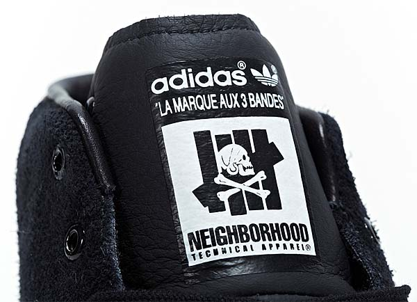 adidas x NEIGHBORHOOD x UNDEFEATED OFFICIAL MID 80S [BLACK] M22694