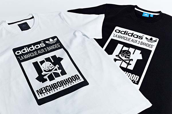 adidas x NEIGHBORHOOD x UNDEFEATED OFFICIAL MID 80S [BLACK] M22694