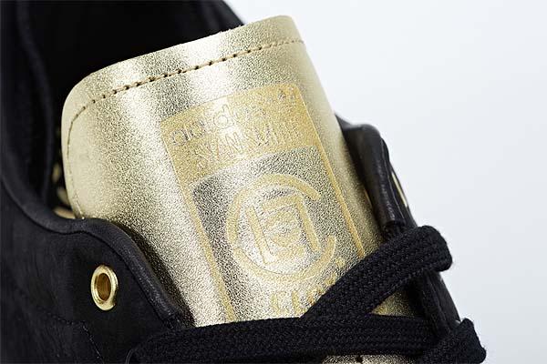 adidas STAN SMITH CLOT [BLACK/CHALK/METALLIC GOLD] M22696 写真2