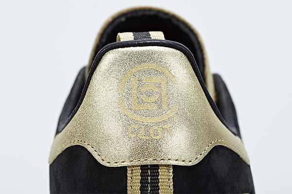 adidas STAN SMITH CLOT [BLACK/CHALK/METALLIC GOLD] M22696 写真3