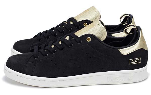adidas STAN SMITH CLOT [BLACK/CHALK/METALLIC GOLD] M22696