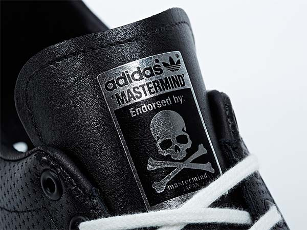 adidas STAN SMITH mastermind JAPAN [BLACK/METALLIC SILVER] M22697 写真1