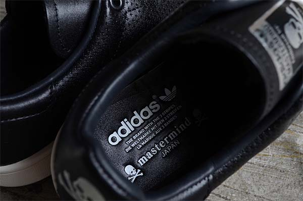 adidas STAN SMITH mastermind JAPAN [BLACK/METALLIC SILVER] M22697 写真4