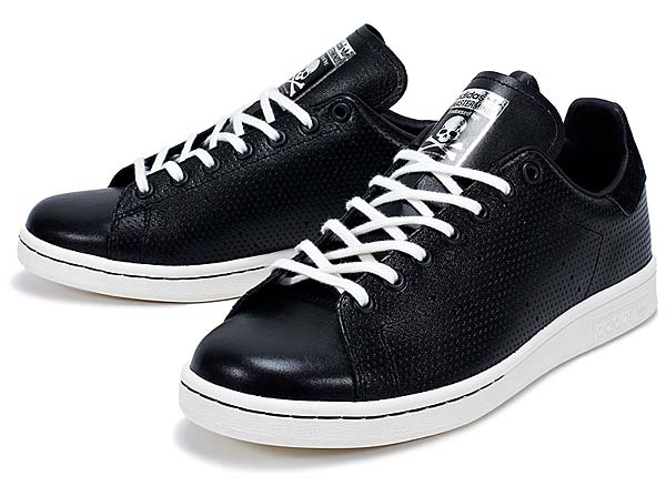 adidas STAN SMITH mastermind JAPAN [BLACK/METALLIC SILVER] M22697