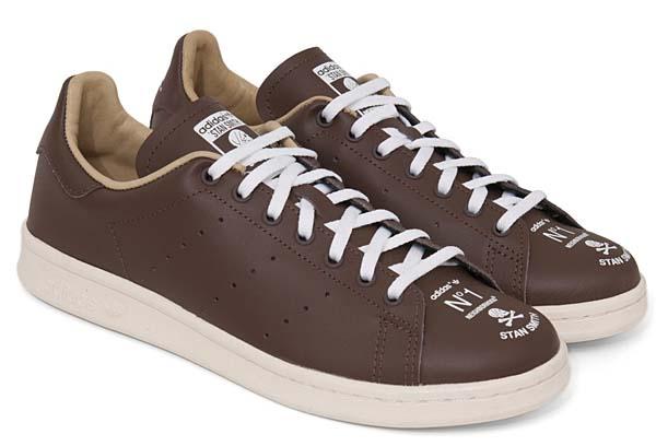 adidas STAN SMITH.NBHD/CL-SNEAKER [SUPCOL/CHALK 2/ESPRESSO] M22698 写真1