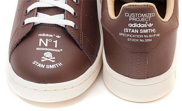adidas STAN SMITH.NBHD/CL-SNEAKER [SUPCOL/CHALK 2/ESPRESSO] M22698 写真2