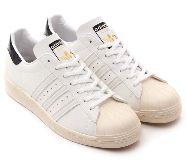 adidas Originals for atmos SS 80s G-SNK 7 [RUNNING WHITE/RUNNING WHITE/LIGHT BONE] M25977 写真1