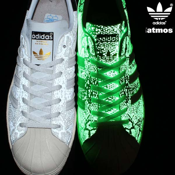 adidas Originals for atmos SS 80s G-SNK 7 [RUNNING WHITE/RUNNING WHITE/LIGHT BONE] M25977