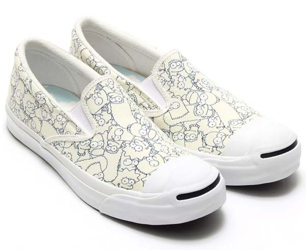CONVERSE JACK PURCELL THE SIMPSONS SLIP-ON [WHITE] 32261980