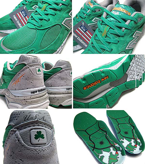 new balance M990 BA3 BOSTON MARATHON ST.PATRICKS DAY M990 BA3 写真2