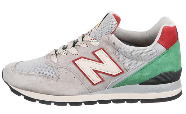 new balance M996 PG [GREY/GREEN/RED] M996 PG 写真1