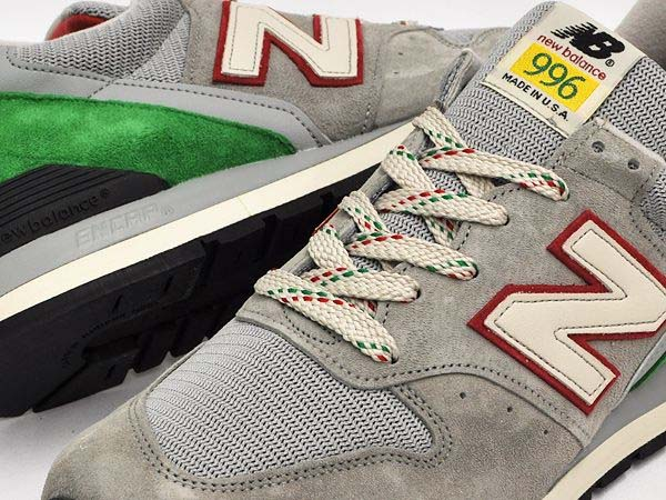 new balance M996 PG [GREY/GREEN/RED] M996 PG 写真3