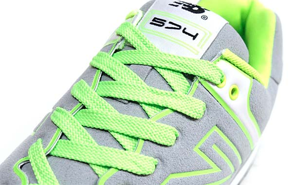 new balance NEON LIGHTS ML574 NEY [GREY / NEON GREEN] ML574