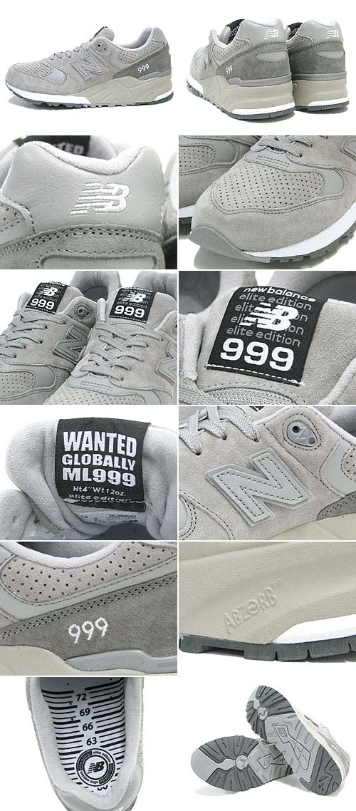 new balance ML999 MG Most Wanted Pack [Grey] ML999 MG 写真1