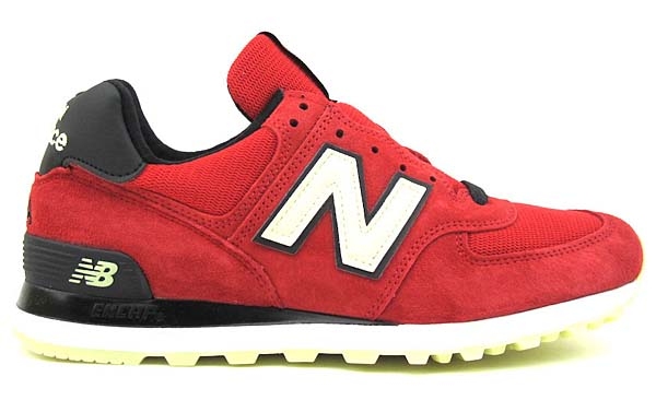 new balance US574 SL [DARK RED / GLOW IN THE DARK] US574